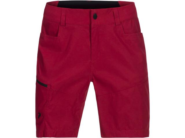 Peak Performance Iconiq Shorts largos hasta la rodilla Mujer, true pink